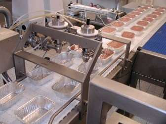 Filling line for pate