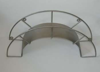 Hose holder in stainless steel -  for 40 m 3/4