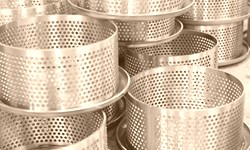 Filter cartridge in stainless steel